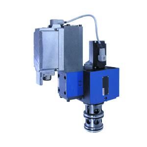 3/3-ходовые регулировочные клапаны, непрямого действия, с индуктивным датчиком положения и со встроенными управляющими электронными устройствами (OBE) 3WRCBEE