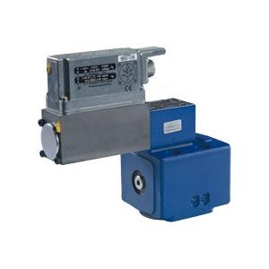 Предохранительные пропорциональные клапаны, непрямого действия, со встроенными электронными устройствами (OBE) и с возвратным движением хода DBEBE10Z
