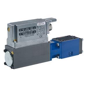 Предохранительные пропорциональные клапаны, непрямого действия, со встроенными электронными устройствами (OBE) и с возвратным движением хода DBEBE6X