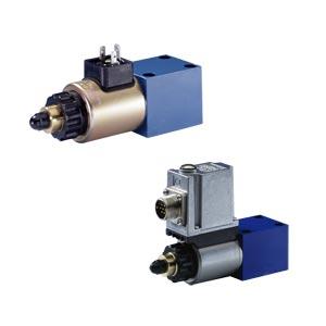 Предохранительные пропорциональные клапаны, прямого действия, без/с интегрированными электронными устройствами (OBE) DBET(E)