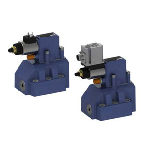 Пропорциональные редукционные клапаны, непрямого действия, без/с максимальной предохранительной функцией, без/с интегрированными электронными устройствами (OBE) DRE(M) 30, DRE(M)E 30