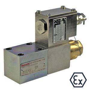 Клапаны пропорционального регулирования ограничения давления, прямого действия DBET...XE