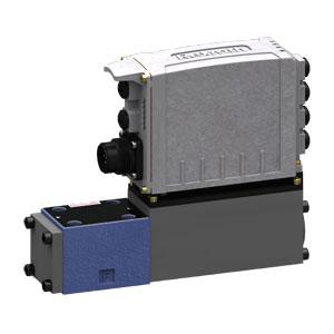 Регулировочный клапан со встроенным цифровым осевым контроллером (IAC-Multi-Ethernet) 4WRPDH