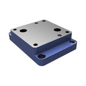 Присоединительная плита, типоразмер 16 с расположением монтажных отверстий в соответствии с DIN 24340 форма G, ISO 6263 и CETOP-RP 121 H G 282/01