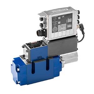 Регулировочный клапан, непрямого действия, со встроенным цифровым осевым контроллером (IAC-Multi-Ethernet) 4WRLD