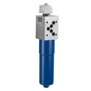 Блочный фильтр для наружной установки на промежуточной плите 320 PZR