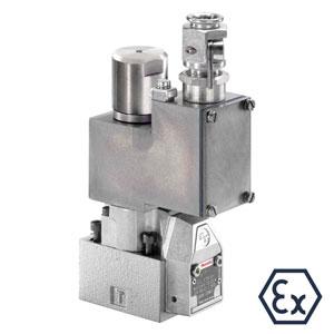 Седельные распределители прямого управления с электромагнитным управлением M-.SEW 6…XE