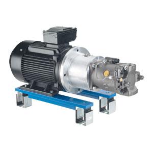 Насосные группы двигателя - IE2, для длительной эксплуатации S1 ABAPG-A10VSO...VS