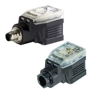 Клапанный усилитель для распределителей пропорционального регулирования и клапанов давления VT-SSPA1-5-1X, VT-SSPA1-100-1X